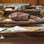 Closeup of the Rock Collection